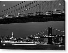 New York Bridges Acrylic Print