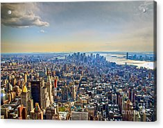 New York City - Manhattan Acrylic Print