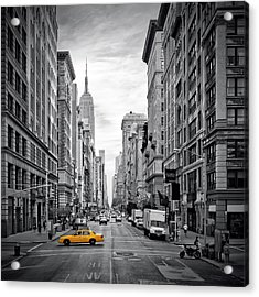 New York City 5th Avenue Acrylic Print