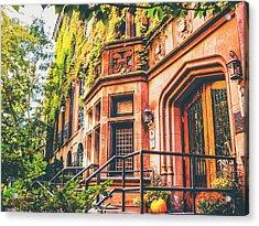 New York City Autumn Acrylic Print by Vivienne Gucwa