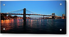 New York City Bridges Acrylic Print