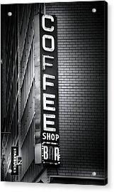 New York City Coffee House Acrylic Print