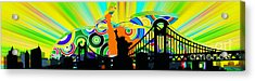 New York City Colors Acrylic Print by Stefano Senise