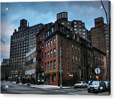 New York City - Greenwich Village 008 Acrylic Print by Lance Vaughn
