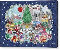 New York City Holiday Acrylic Print