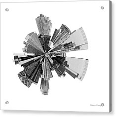 New York City Lily Acrylic Print by Shawn Young
