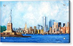 New York City Rebirth Acrylic Print