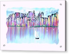 New York City Scape Acrylic Print