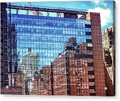 New York City Skyscraper Art 4 Acrylic Print