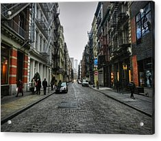 New York City - Soho 003 Acrylic Print by Lance Vaughn