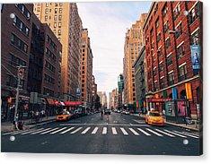New York City - Summer Acrylic Print by Vivienne Gucwa