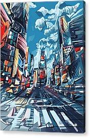 New York City-times Square Acrylic Print