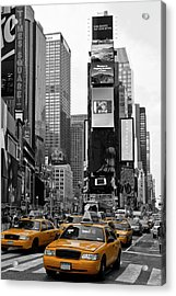 New York City Times Square  Acrylic Print by Melanie Viola