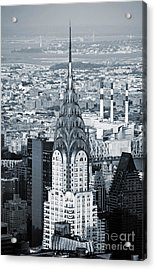 New York City - Usa - Chrysler Building Acrylic Print