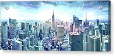 New York Fairytales Acrylic Print