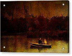 New York Fall Acrylic Print by Jeff Burgess
