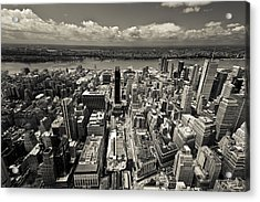 New York Husdon Acrylic Print