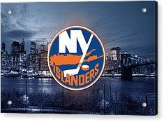 New York Islanders Artwork  Acrylic Print