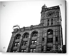 Montreal New York Life Insurance Building Acrylic Print by John Rizzuto