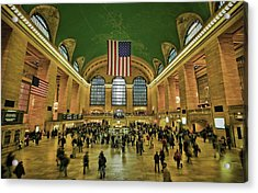 New York Minute Acrylic Print