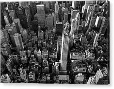 New York, New York 5 Acrylic Print