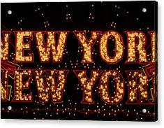 New York New York Acrylic Print by Jason Williams