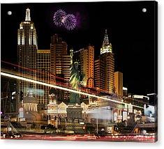 New York New York Acrylic Print by Joseph Sassone