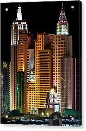 New York New York Acrylic Print by Rae Tucker