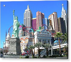 Acrylic Print featuring the photograph New York New York by Randy Rosenberger
