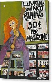 New York News Stand Acrylic Print