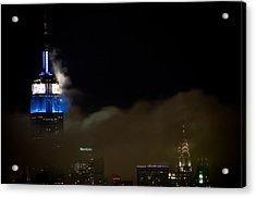 New York Acrylic Print by Patrick  Flynn