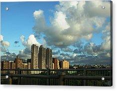 New York Acrylic Print by Paul SEQUENCE Ferguson             sequence dot net