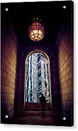 Acrylic Print featuring the photograph New York Perspective by Jessica Jenney