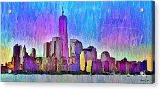 New York Skyline 2 - Da Acrylic Print