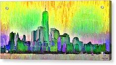 New York Skyline 5 - Da Acrylic Print