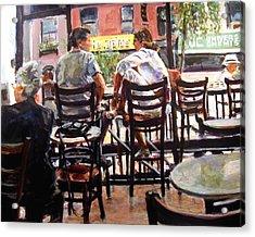 New York Spice Acrylic Print by Chuck Berk
