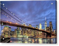 New York Spirit Acrylic Print by Zev Steinhardt
