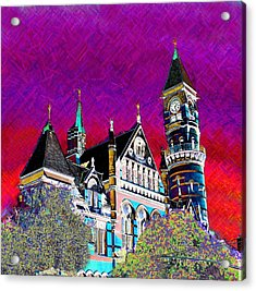 New York State Of Mind Acrylic Print by Howard Lancaster