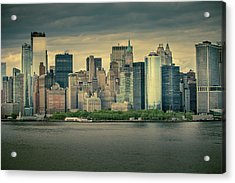 Acrylic Print featuring the photograph New York State Of Mind by Ryan Smith