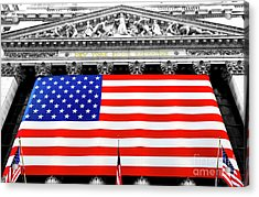 New York Stock Exchange 2006 Acrylic Print