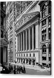 New York Stock Exchange Circa 1904 Acrylic Print by Jon Neidert