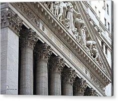 New York Stock Exchange Acrylic Print