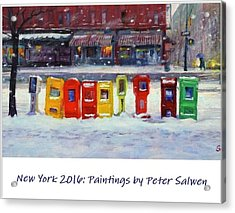 New York Streetscapes 2016 Acrylic Print