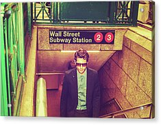 New York Subway Station Acrylic Print