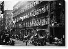 New York: Tenements, 1912 Acrylic Print by Granger