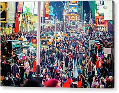 New York Times Square Acrylic Print