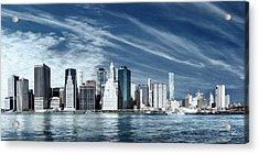 New York Two Acrylic Print by Melissa Smith