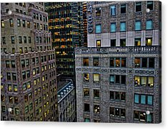 New York Windows Acrylic Print by Joan Reese
