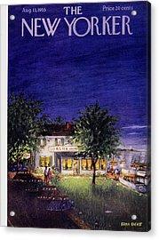 New Yorker August 13 1955 Acrylic Print