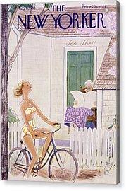 New Yorker August 6 1955 Acrylic Print